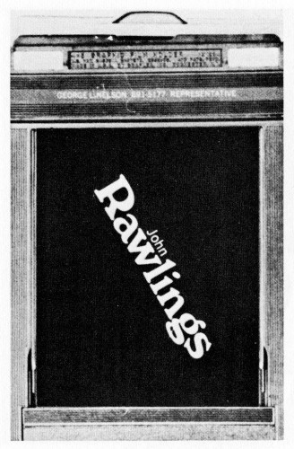 Business Card for John Rawlings