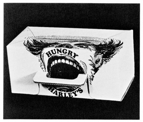 Hungry Charley's, carton