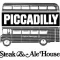 Piccadilly Steak & Ale House, stationery, logo