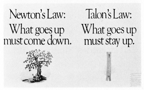 Newton's Law, promotion mailer