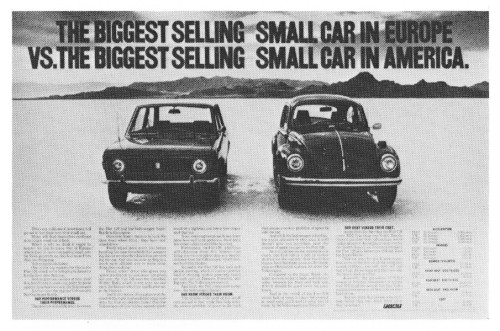 """The biggest selling small car..."""