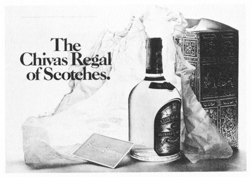 """The Chivas Regal of Scotches."""