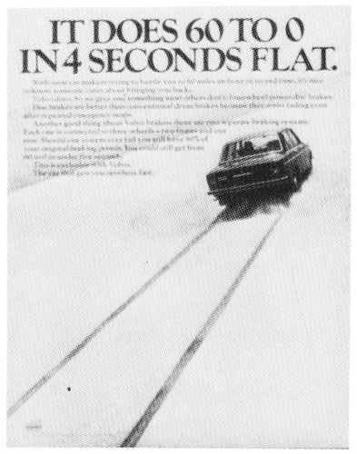 """It does 60 to 0 in 4 seconds flat"""