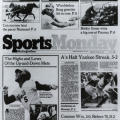 Sports Monday, The New York Times, June 23, 1980