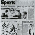 Sports Monday, The New York Times, May 26, 1980