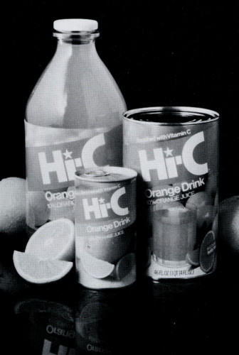 Hi-C Orange Drink