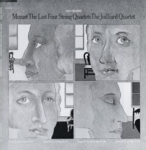 Mozart: The Last Four String Quartets