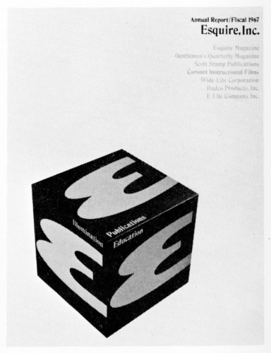 Esquire, Inc. Annual Report 1967 brochure