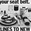 Loosen your seat belt  poster