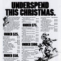 Underspend This Christmas