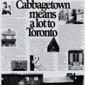Cabbagetown means a lot to Toronto