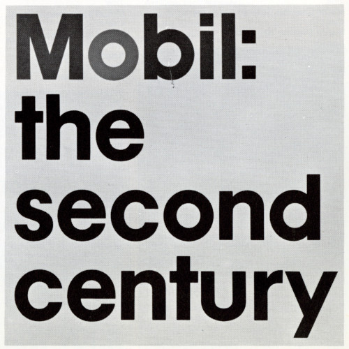 Mobil: the second century brochure