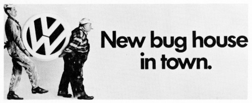 New bug house in town poster