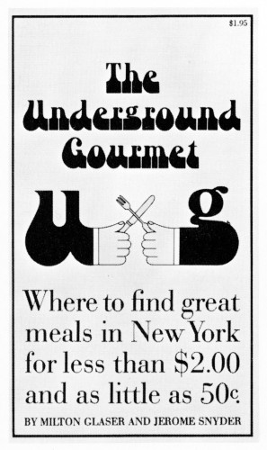 The Underground Gourmet paperback cover