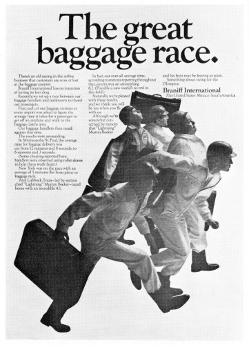 The great baggage race.