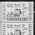 U.S. Homemakers Commemorative 5c stamp