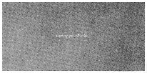 Banking goes to Market, book