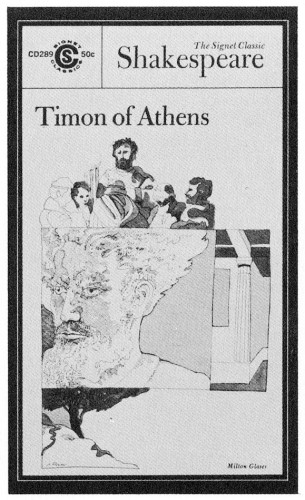 Timon of Athens, paperback cover