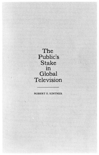 The Public's Stake in Global Television, booklet