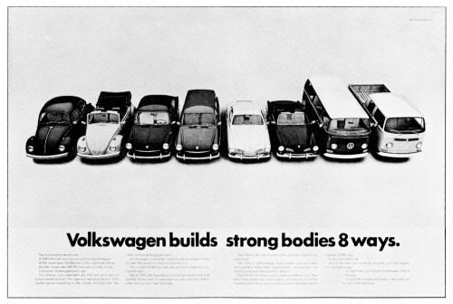 Volkswagen builds strong bodies 8 ways