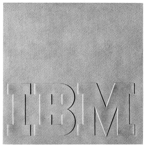 IBM trademark manual, booklet