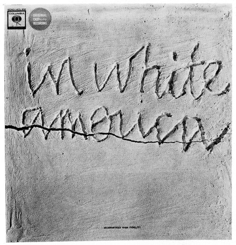 In White America, record album cover