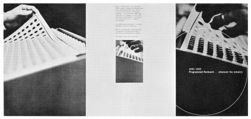 1092/1093 Programmed Keyboard, brochure