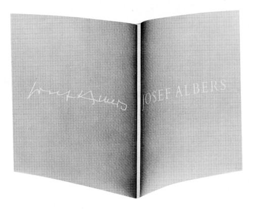 Josef Albers:  Homage to the Square, exhibition catalogue