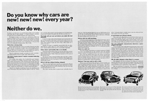 """Do you know why cars are new…"""