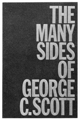 The Many Sides of George C. Scott, brochure