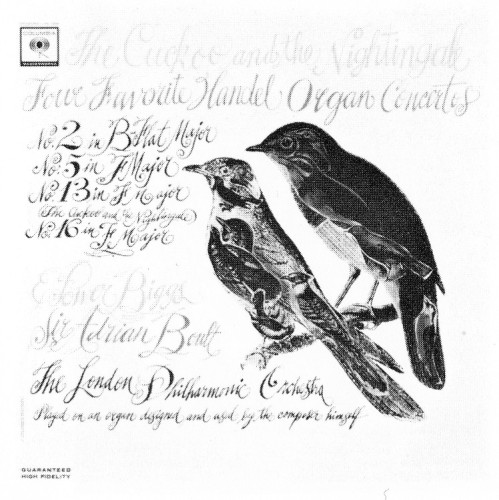 The Cuckoo and the Nightingale, record cover