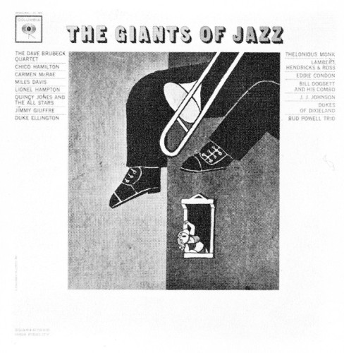 The Giants of Jazz, record cover