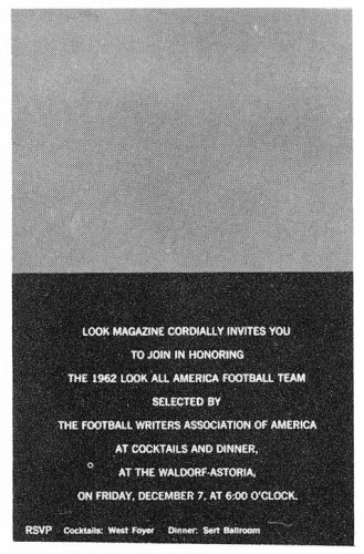 Look Magazine, invitation folder
