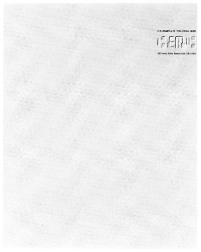 E.M. Miller & Co., letterhead, envelope
