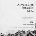 Adventures for Readers, Book One Heritage Edition