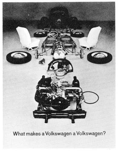 What Makes a Volkswagen a Volkswagen?, brochure