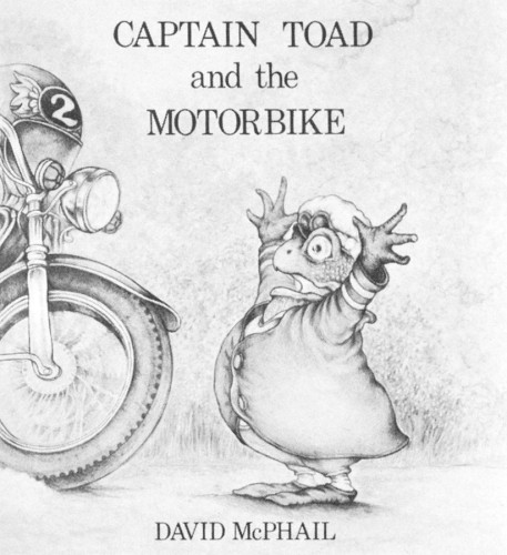 Captain Toad And The Motorbike