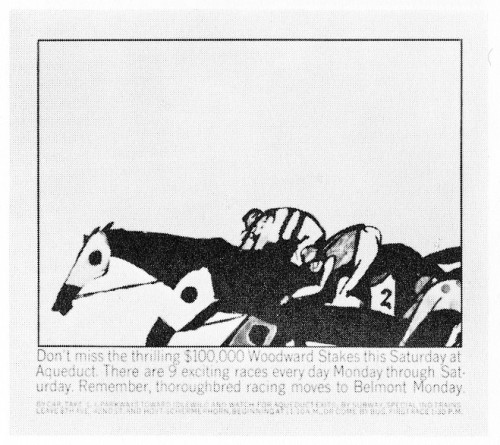 """Don't miss the thrilling $100,000 Woodward Stakes"""