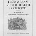The Saturday Evening Post Fiber & Bran Better Health Cookbook