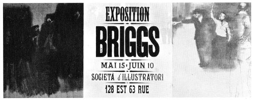 Exposition Briggs, poster