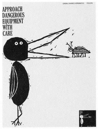 Approach Dangerous Equipment With Care, poster