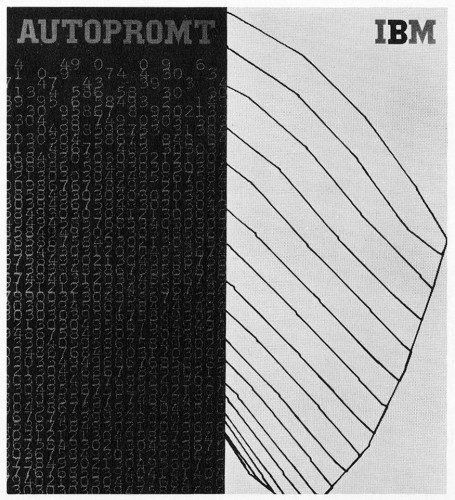 IBM Autopromt, promotion booklet