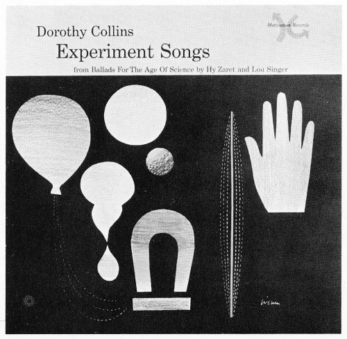Experiment Songs, record jacket cover
