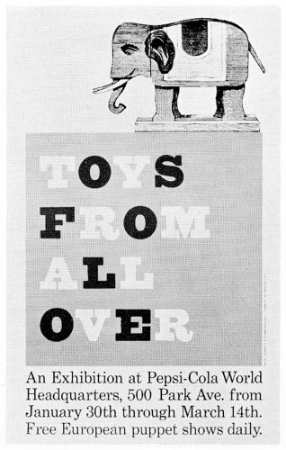 Toys from All Over, poster
