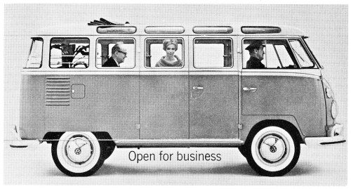 Open for Business, booklet