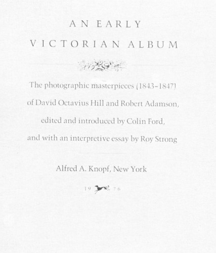 An Early Victorian Album