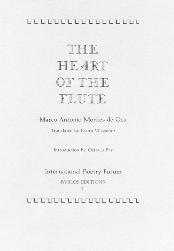 The Heart of the Flute