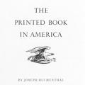 The Printed Book in America