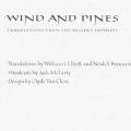 Wind & Pines:  Translation from the Ancient Japanese