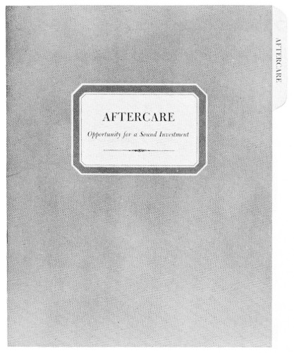 Aftercare, file brochure